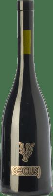 15,95 € Kostenloser Versand | Rotwein Finca La Estacada Secua Crianza I.G.P. Vino de la Tierra de Castilla Kastilien-La Mancha Spanien Syrah, Cabernet Sauvignon Flasche 75 cl