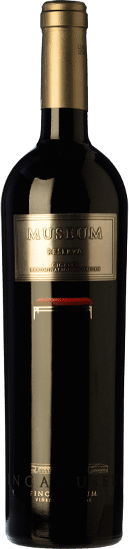 38,95 € Envío gratis | Vino tinto Museum Reserva D.O. Cigales Castilla y León España Tempranillo Botella Mágnum 1,5 L