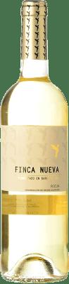 11,95 € Free Shipping | White wine Finca Nueva Fermentado en Barrica Crianza D.O.Ca. Rioja The Rioja Spain Viura Bottle 75 cl
