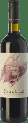17,95 € Free Shipping | Red wine Finca Parera Faust 1.2 Crianza D.O. Penedès Catalonia Spain Tempranillo, Merlot, Cabernet Sauvignon, Grenache Tintorera Bottle 75 cl