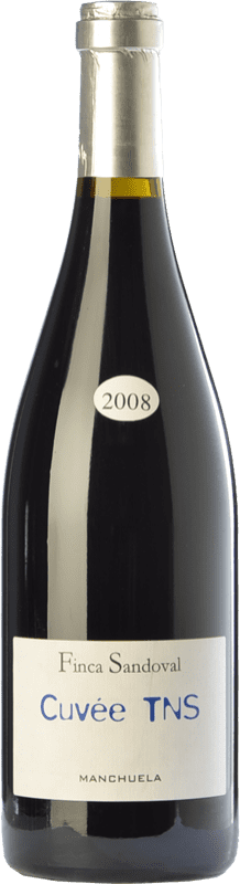 26,95 € Free Shipping | Red wine Finca Sandoval Cuvée TNS Crianza D.O. Manchuela Castilla la Mancha Spain Syrah, Touriga Nacional Bottle 75 cl