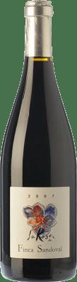 25,95 € Free Shipping | Red wine Finca Sandoval La Rosa Joven D.O. Manchuela Castilla la Mancha Spain Syrah, Grenache Tintorera Bottle 75 cl