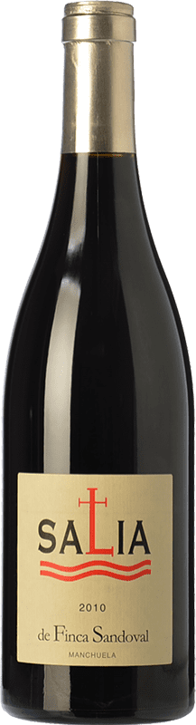 17,95 € Free Shipping | Red wine Finca Sandoval Salia Joven D.O. Manchuela Castilla la Mancha Spain Syrah, Grenache, Grenache Tintorera Bottle 75 cl