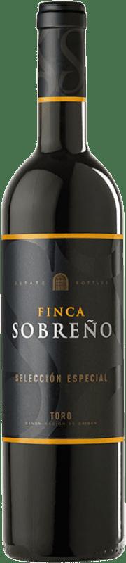 19,95 € Free Shipping | Red wine Finca Sobreño Selección Especial Reserva D.O. Toro Castilla y León Spain Tinta de Toro Bottle 75 cl