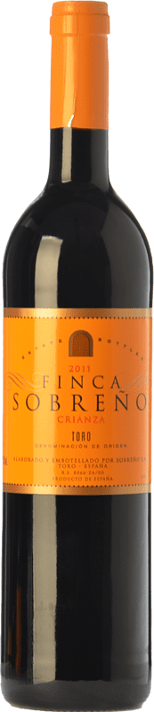10,95 € Free Shipping | Red wine Finca Sobreño Crianza D.O. Toro Castilla y León Spain Tinta de Toro Bottle 75 cl