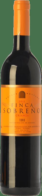 7,95 € Envoi gratuit | Vin rouge Finca Sobreño Crianza D.O. Toro Castille et Leon Espagne Tinta de Toro Bouteille 75 cl