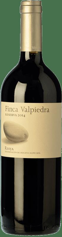 21,95 € Envío gratis | Vino tinto Finca Valpiedra Reserva D.O.Ca. Rioja La Rioja España Tempranillo, Graciano, Maturana Tinta Botella 75 cl