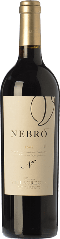 141,95 € Free Shipping | Red wine Finca Villacreces Nebro Crianza D.O. Ribera del Duero Castilla y León Spain Tempranillo, Merlot, Cabernet Sauvignon Bottle 75 cl