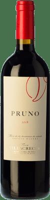 12,95 € 送料無料 | 赤ワイン Finca Villacreces Pruno Crianza D.O. Ribera del Duero カスティーリャ・イ・レオン スペイン Tempranillo, Cabernet Sauvignon ボトル 75 cl