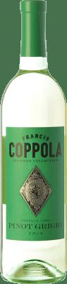 24,95 € Free Shipping | White wine Francis Ford Coppola Diamond Pinot Grigio I.G. California California United States Sauvignon White, Pinot Grey Bottle 75 cl