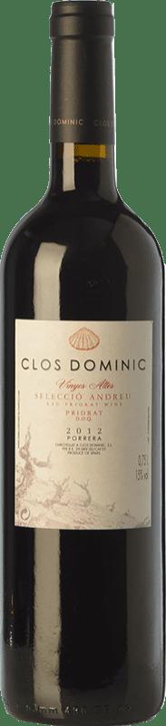 61,95 € Envío gratis | Vino tinto Clos Dominic Vinyes Altes Selecció Andreu Crianza D.O.Ca. Priorat Cataluña España Cariñena Botella 75 cl