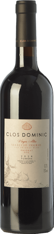 65,95 € Envío gratis | Vino tinto Clos Dominic Vinyes Altes Selecció Íngrid Crianza D.O.Ca. Priorat Cataluña España Garnacha Botella 75 cl
