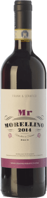 12,95 € Free Shipping | Red wine Frank & Serafico Mr D.O.C.G. Morellino di Scansano Tuscany Italy Sangiovese Bottle 75 cl