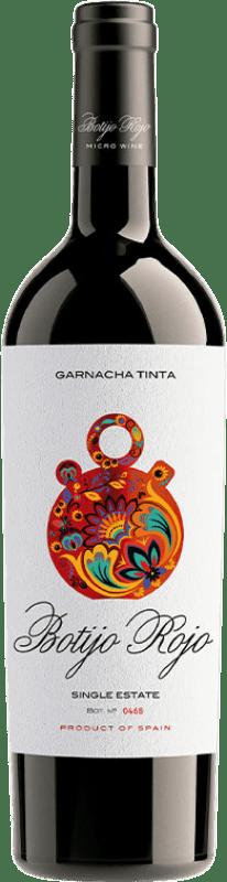 9,95 € Envoi gratuit | Vin rouge Frontonio Botijo Rojo Crianza I.G.P. Vino de la Tierra de Valdejalón Aragon Espagne Grenache Bouteille 75 cl