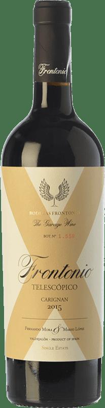 18,95 € Free Shipping | Red wine Frontonio Telescópico Carignan Crianza I.G.P. Vino de la Tierra de Valdejalón Aragon Spain Carignan Bottle 75 cl
