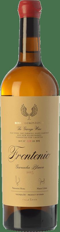 29,95 € Free Shipping | White wine Frontonio Crianza I.G.P. Vino de la Tierra de Valdejalón Aragon Spain Grenache White Bottle 75 cl