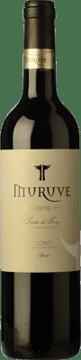 13,95 € Kostenloser Versand | Rotwein Frutos Villar Muruve Reserva D.O. Toro Kastilien und León Spanien Tinta de Toro Flasche 75 cl