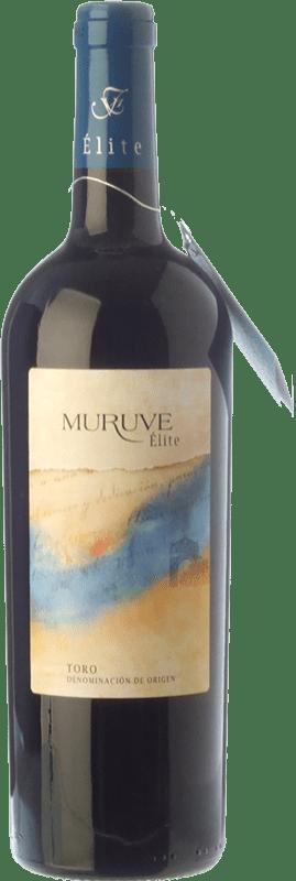 25,95 € Envío gratis | Vino tinto Frutos Villar Muruve Élite Crianza D.O. Toro Castilla y León España Tinta de Toro Botella 75 cl