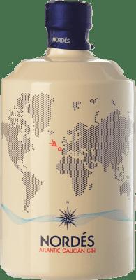 31,95 € Free Shipping | Gin Galician Original Gin Nordés Spain Bottle 70 cl