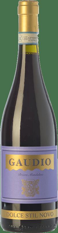 9,95 € Envío gratis | Vino tinto Gaudio Dolce Stil Novo D.O.C. Malvasia di Casorzo d'Asti Piemonte Italia Malvasía di Casorzo Botella 75 cl