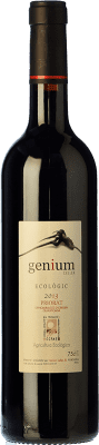22,95 € Free Shipping | Red wine Genium Ecològic Joven D.O.Ca. Priorat Catalonia Spain Merlot, Syrah, Grenache, Carignan Bottle 75 cl