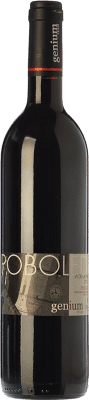 22,95 € Free Shipping | Red wine Genium Poboleda Vi de Vila Crianza D.O.Ca. Priorat Catalonia Spain Merlot, Grenache, Carignan Bottle 75 cl