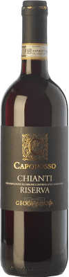 11,95 € Free Shipping | Red wine Geografico Riserva Capofosso Reserva D.O.C.G. Chianti Tuscany Italy Sangiovese, Canaiolo Bottle 75 cl