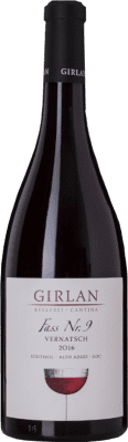 14,95 € Free Shipping | Red wine Girlan Fass 9 D.O.C. Alto Adige Trentino-Alto Adige Italy Schiava Bottle 75 cl