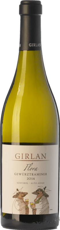 18,95 € Envío gratis | Vino blanco Girlan Flora D.O.C. Alto Adige Trentino-Alto Adige Italia Gewürztraminer Botella 75 cl