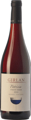 19,95 € Free Shipping | Red wine Girlan Pinot Nero Patricia D.O.C. Alto Adige Trentino-Alto Adige Italy Pinot Black Bottle 75 cl