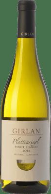 13,95 € Envoi gratuit | Vin blanc Girlan Pinot Bianco Plattenriegl D.O.C. Alto Adige Trentin-Haut-Adige Italie Pinot Blanc Bouteille 75 cl