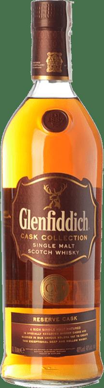69,95 € Free Shipping | Whisky Single Malt Glenfiddich Reserve Cask Speyside United Kingdom Missile Bottle 1 L