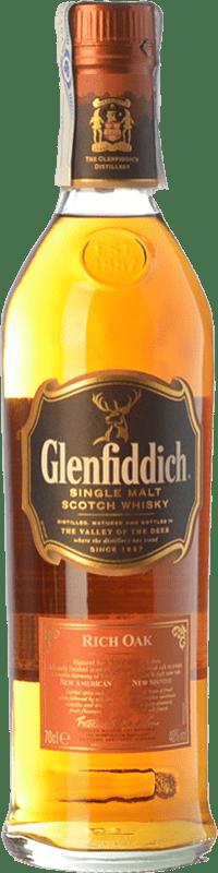 44,95 € Free Shipping | Whisky Single Malt Glenfiddich Rich Oak 14 Speyside United Kingdom Bottle 70 cl