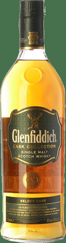 57,95 € Free Shipping | Whisky Single Malt Glenfiddich Select Cask Speyside United Kingdom Missile Bottle 1 L