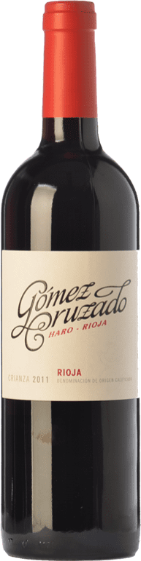 12,95 € Envoi gratuit | Vin rouge Gómez Cruzado Crianza D.O.Ca. Rioja La Rioja Espagne Tempranillo, Grenache Bouteille 75 cl