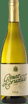 9,95 € Kostenloser Versand | Weißwein Gómez Cruzado Crianza D.O.Ca. Rioja La Rioja Spanien Viura, Tempranillo Weiß Flasche 75 cl