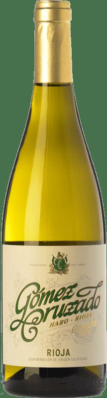 9,95 € Envío gratis | Vino blanco Gómez Cruzado Crianza D.O.Ca. Rioja La Rioja España Viura, Tempranillo Blanco Botella 75 cl