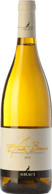 26,95 € Free Shipping | White wine Graci Bianco D.O.C. Etna Sicily Italy Carricante, Catarratto Bottle 75 cl