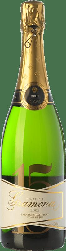 122,95 € 免费送货 | 白起泡酒 Gramona Enoteca 香槟 Gran Reserva 2002 D.O. Cava 加泰罗尼亚 西班牙 Macabeo, Xarel·lo 瓶子 75 cl
