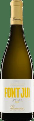 14,95 € Free Shipping | White wine Gramona Font Jui Crianza D.O. Penedès Catalonia Spain Xarel·lo Bottle 75 cl