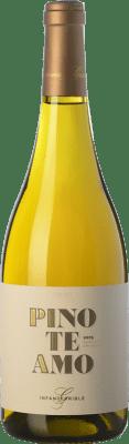 18,95 € Free Shipping | White wine Gramona Pinoteamo Crianza D.O. Penedès Catalonia Spain Homenatge a les Pinot Bottle 75 cl