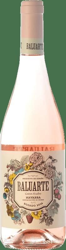 6,95 € Free Shipping | Rosé wine Gran Feudo Baluarte D.O. Navarra Navarre Spain Grenache Bottle 75 cl