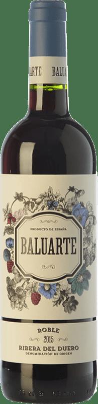 8,95 € Envío gratis | Vino tinto Gran Feudo Baluarte Roble D.O. Ribera del Duero Castilla y León España Tempranillo Botella 75 cl