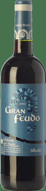 8,95 € Envío gratis | Vino tinto Gran Feudo Joven D.O. Ribera del Duero Castilla y León España Tempranillo Botella 75 cl