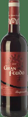 6,95 € Kostenloser Versand | Rotwein Gran Feudo Joven D.O.Ca. Rioja La Rioja Spanien Tempranillo Flasche 75 cl