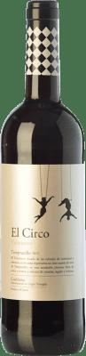 4,95 € Envío gratis | Vino tinto Grandes Vinos El Circo Volatinero Joven D.O. Cariñena Aragón España Tempranillo Botella 75 cl