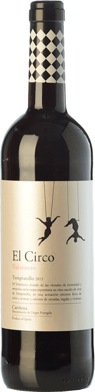 4,95 € Free Shipping | Red wine Grandes Vinos El Circo Volatinero Joven D.O. Cariñena Aragon Spain Tempranillo Bottle 75 cl