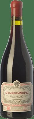 31,95 € Free Shipping   Red wine Gregorio Martínez Selección Mónica Martínez Crianza D.O.Ca. Rioja The Rioja Spain Tempranillo, Grenache, Graciano, Mazuelo Bottle 75 cl