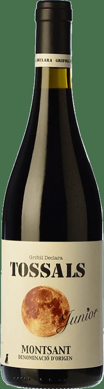 9,95 € Free Shipping | Red wine Grifoll Declara Tossals Junior Joven D.O. Montsant Catalonia Spain Grenache, Cabernet Sauvignon, Carignan Bottle 75 cl