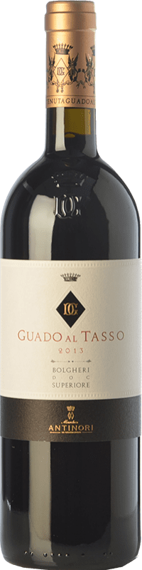129,95 € Free Shipping | Red wine Guado al Tasso D.O.C. Bolgheri Tuscany Italy Merlot, Syrah, Cabernet Sauvignon Bottle 75 cl
